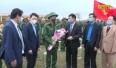 Chủ tịch UBND tỉnh dự Lễ giao nhận quân tại huyện Lạng Giang