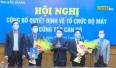 Công bố quyết định bổ nhiệm PGĐ Sở xây dựng và Phó trưởng BQL các KCN tỉnh