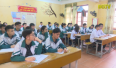 Học sinh lớp 12 ôn thi trong mùa dịch