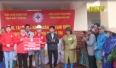 Hội chữ thập đỏ tỉnh hỗ trợ đồng bào miền Trung bị thiệt hại do mưa lũ