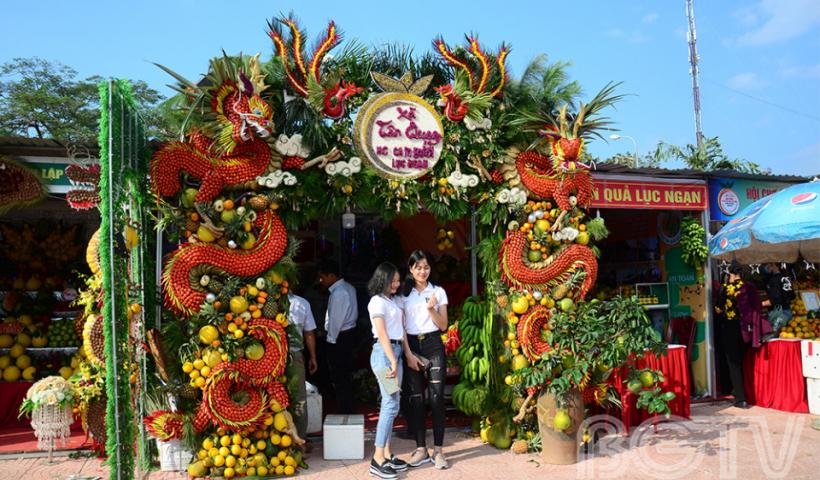 Mãn nhãn cây trái tại Hội chợ Cam bưởi Lục Ngạn 2018