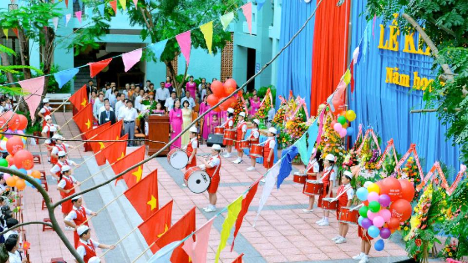 Chuyện cuối tuần: Bắc Giang cùng cả nước bước vào năm học mới