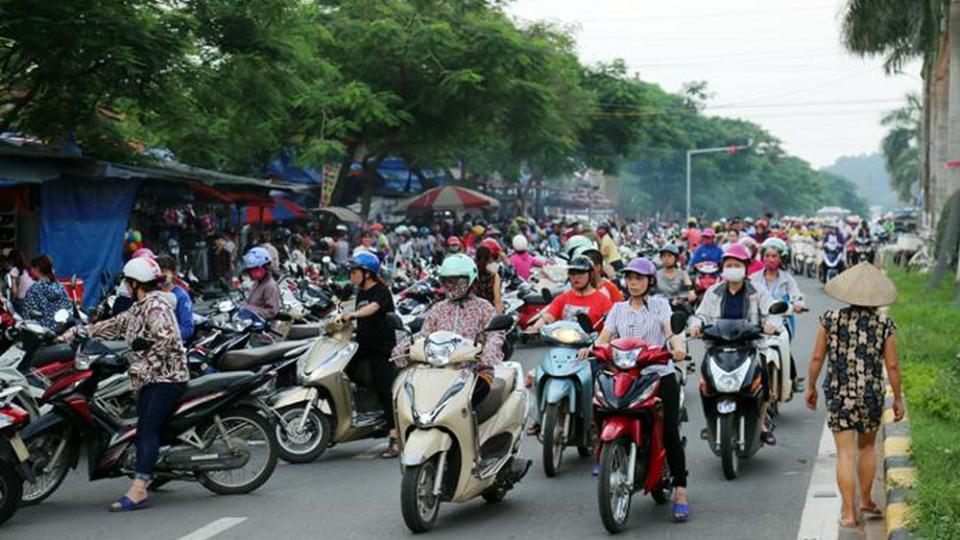 Chuyện cuối tuần: Chuyện giao thông ở khu công nghiệp