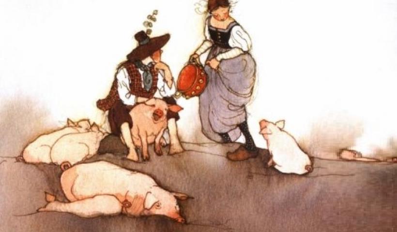 Kể chuyện cổ tích: Anh chàng chăn lợn