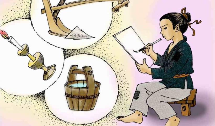 Kể chuyện cổ tích: Cây bút thần