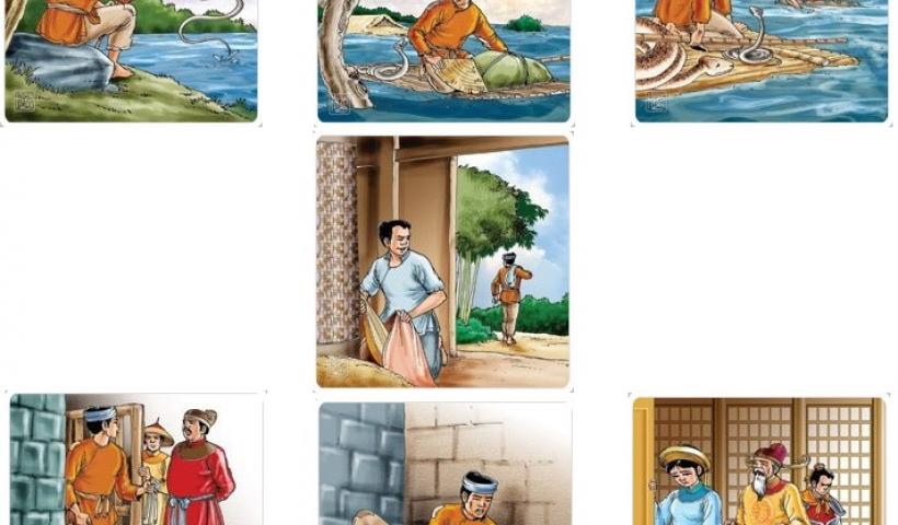 Kể chuyện cổ tích: Cứu vật, vật trả ơn - Cứu nhân, nhân báo oán