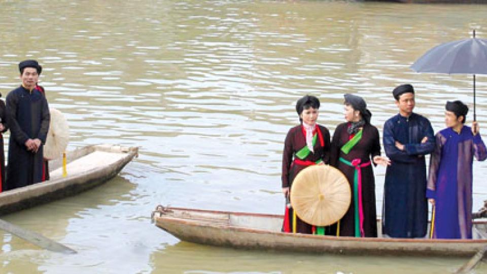 Văn hóa và Du lịch: Quan họ đầu xuân