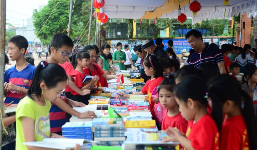 Thông qua ngày hội sách cũng sẽ góp phần định hướng lại văn hóa đọc sách đang dần bị quên lãng, khơi lại niềm đam mê, hứng thú đọc sách của giới trẻ ngày nay.