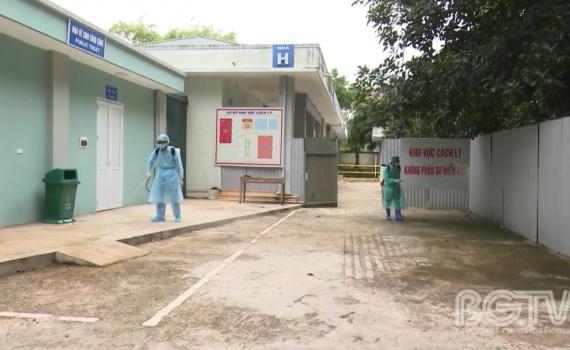 """Bắc Giang: Sẵn sàng ứng phó dịch bệnh theo phương châm """"4 tại chỗ"""""""