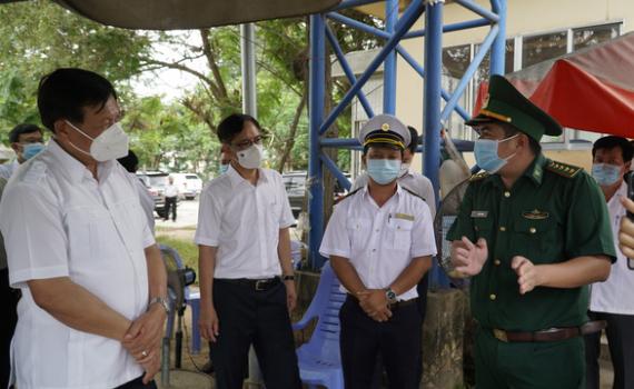 Bộ Y tế đồng loạt kiểm tra phòng, chống dịch COVID-19 ở biên giới phía Nam