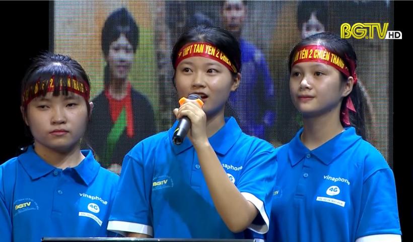 """Gameshow """"Bắc Giang – Hành trình Lịch sử, Văn hóa"""" (Chung kết): Ngày 03- 10 - 2020"""
