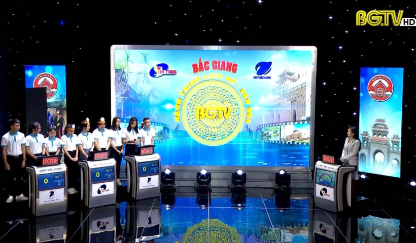 Gameshow Bắc Giang hành trình Lịch sử, Văn hóa (Số 6 – Chủ đề Lễ hội): Ngày 27 - 03 - 2021