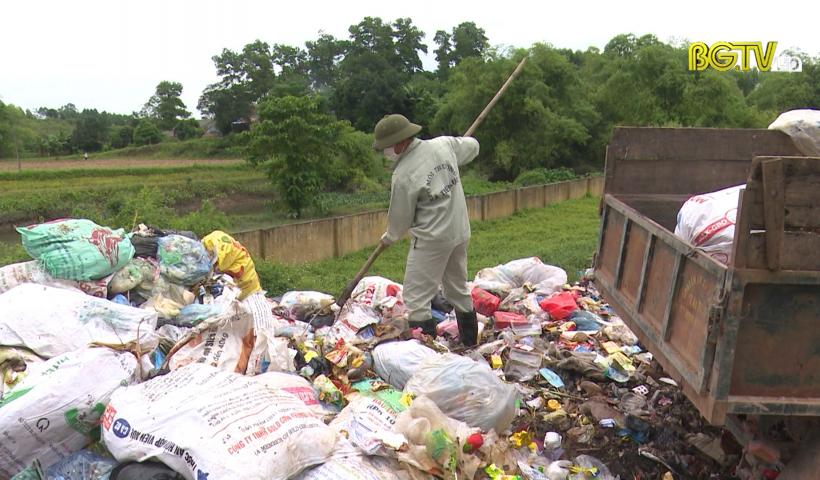 Lạng Giang quan tâm xử lý rác thải
