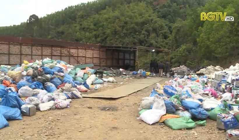 Phát hiện cơ sở xử lý chất thải công nghiệp trái phép