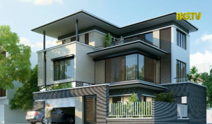 Kiến trúc: Biệt thự mái bằng