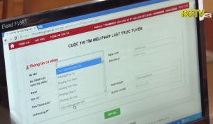 """Bắc Giang dẫn đầu cả nước cuộc thi """"Tìm hiểu pháp luật về bầu cử"""""""