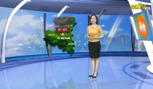 Bản tin thời tiết ngày 03 - 04 - 2021