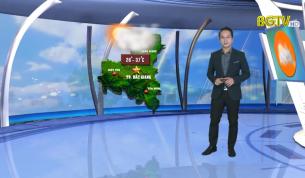 Bản tin thời tiết ngày 11 - 08 - 2020