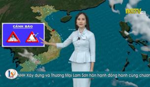 Bản tin thời tiết ngày 14 - 07 - 2021