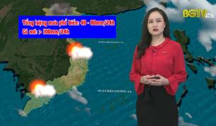 Bản tin thời tiết ngày 17 - 04 - 2021