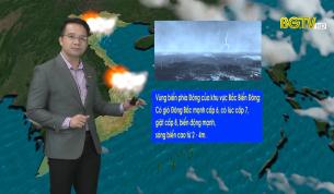 Bản tin thời tiết ngày 20 - 04 - 2021