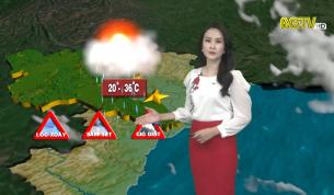 Bản tin thời tiết ngày 21 - 04 - 2021