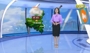 Bản tin thời tiết ngày 22 - 07 - 2020