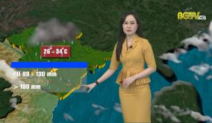 Bản tin thời tiết ngày 24 - 06 - 2021