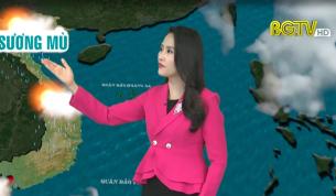 Bản tin thời tiết ngày 25 - 01 - 2021
