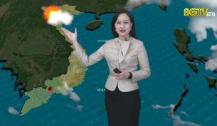 Bản tin thời tiết ngày 25 - 02 - 2021