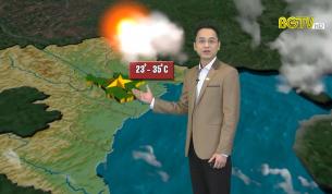 Bản tin thời tiết ngày 30 - 03 - 2021