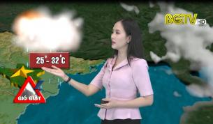 Bản tin thời tiết ngày 30 - 09 - 2020