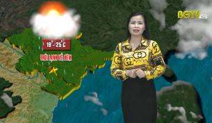 Bản tin thời tiết ngày 30 - 10 - 2020