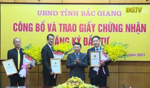CTT: Bắc Giang đón làn sóng mới đầu tư
