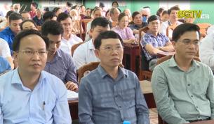Cử tri nơi cư trú nhất trí giới thiệu Chủ tịch UBND tỉnh ứng cử Đại biểu HĐND tỉnh