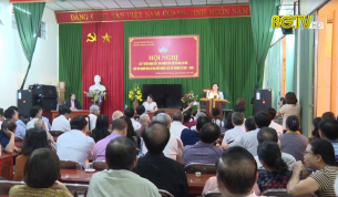 Cử tri nơi cư trú nhất trí giới thiệu Phó Bí thư Thường trực Tỉnh ủy Lê Thị Thu Hồng ứng cử đại biểu HĐND tỉnh khóa XIX
