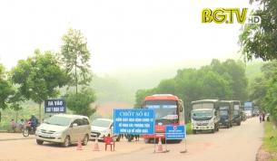 Dỡ bỏ cách ly xã Yên Định, huyện Sơn Động