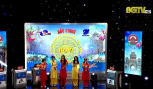 """Gameshow """"Bắc Giang – Hành trình Lịch sử, Văn hóa"""" (Bán kết 1, chủ đề: Tết): Ngày 30 - 01 - 2021"""
