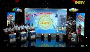 """Gameshow """"Bắc Giang – Hành trình Lịch sử, Văn hóa"""" (Bán kết 1 – Chủ đề Tết): Ngày 25 - 01 - 2020"""