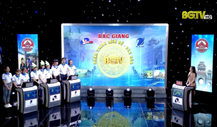 """Gameshow """"Bắc Giang – Hành trình Lịch sử, Văn hóa"""" (Bán kết 2, chủ đề: Chủ tịch Hồ Chí Minh): Ngày 30 - 05 - 2020"""