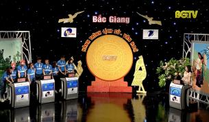 """Gameshow """"Bắc Giang – Hành trình Lịch sử, Văn hóa"""": Bán kết 3 (năm thứ 4)"""