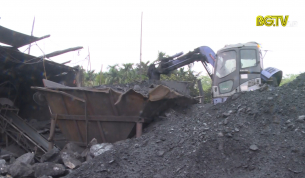 Lạng Giang: Xử lý 2 cơ sở nghiền than gây ô nhiễm môi trường