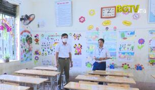 Lục Nam đảm bảo phòng chống dịch Covid-19 cho năm học mới