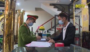 Lục Nam phòng, chống dịch Covid-19 đối với hoạt động karaoke, nhà nghỉ