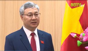 Phỏng vấn ông Trần Văn Lâm về hoạt động của đoàn ĐBQH tỉnh