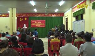 Sơn Động: Nâng cao trách nhiệm của cử tri lấy ý kiến đối với đại biểu dân cử