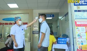 Thực hiện nghiêm công tác phòng dịch tại cơ sở y tế