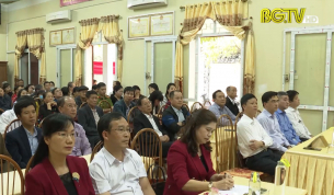 Tổ dân phố số 2, phường Ngô Quyền lấy ý kiến nhận xét và tín nhiệm với 20 ứng viên