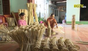 TP Bắc Giang: Giữ gìn và phát huy làng nghề đan rọ tôm