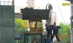 Yên Dũng vận hành lò đốt rác công suất 2,5 tấn/giờ